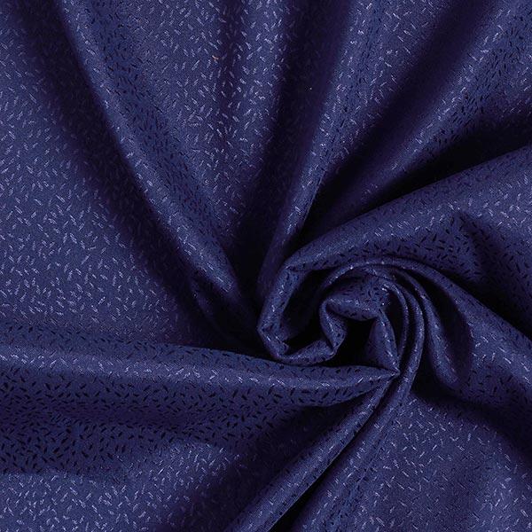 Jacquard satin Confetti grain de riz – bleu roi