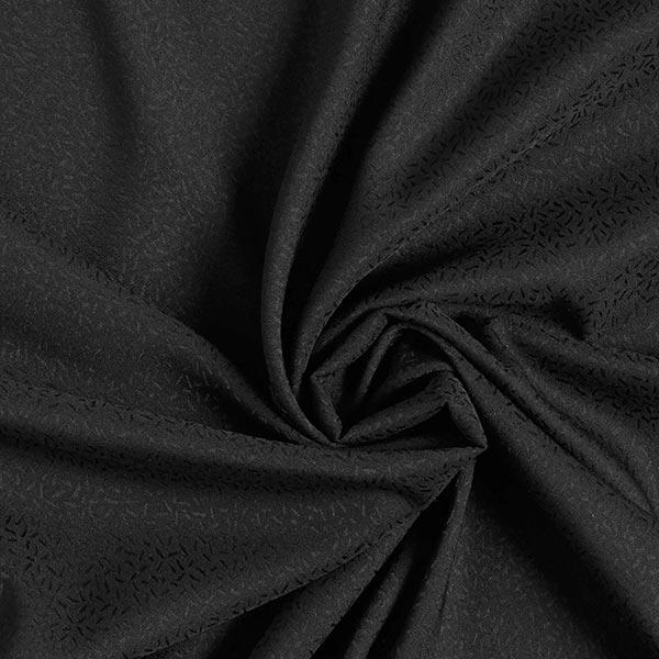 Jacquard satin Confetti grain de riz – noir