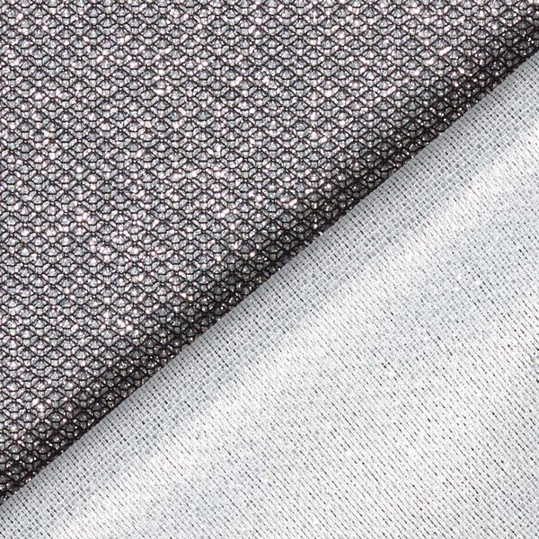 Tissu scintillant lurex metallic – noir