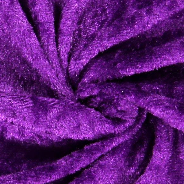 Pannesamt - violett