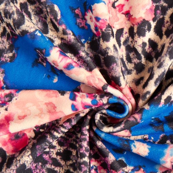 Scuba Animaux & Fleurs – bleu roi