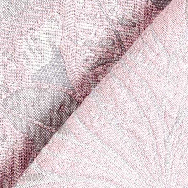 Jacquard Feuilles enchantées – rose/bleu