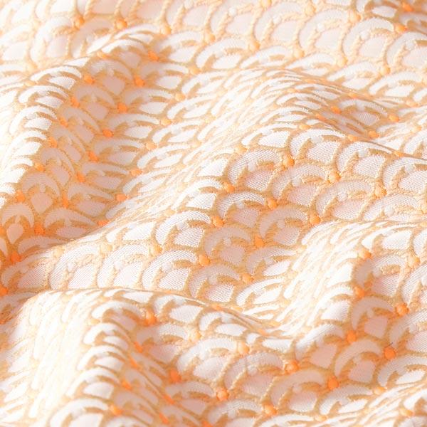Jacquard Petits arcs Summer's Picknick – nature/orange néon