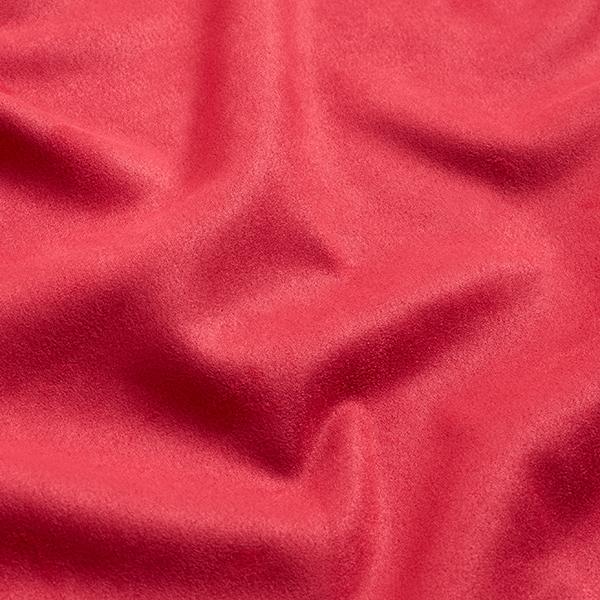 Tissu suédine Scuba aspect daim – corail