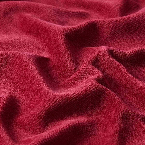Tissu Nicki Uni – rouge bordeaux