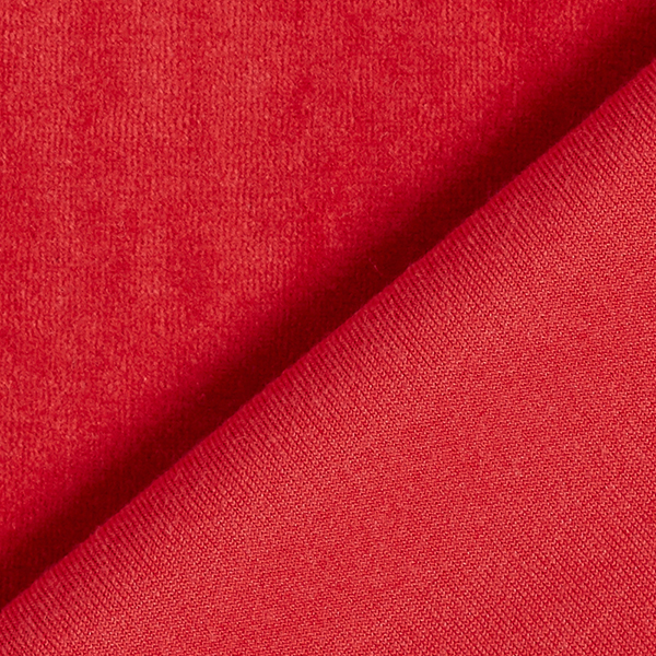 Tissu Nicki Uni – rouge rouille