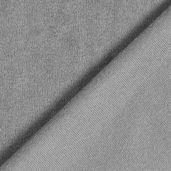 Tissu Nicki Uni – gris