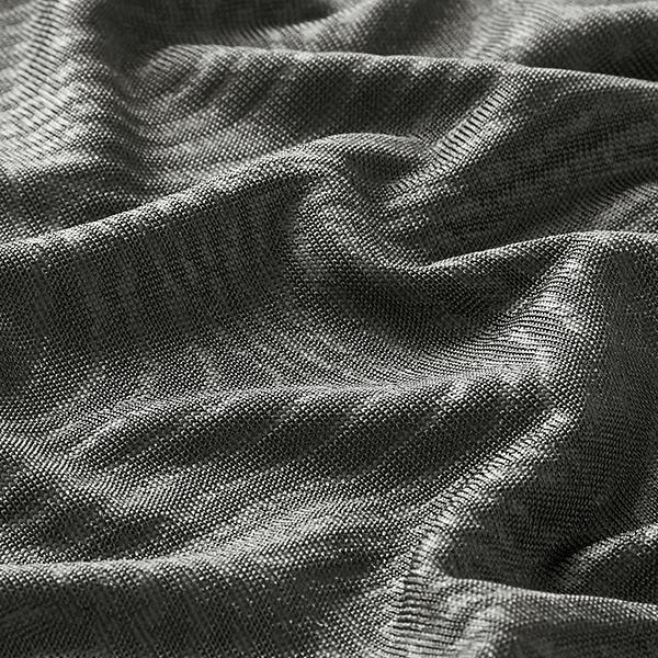Strickjacquard Zebra – grau