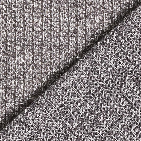 Tissu maille grossier – gris