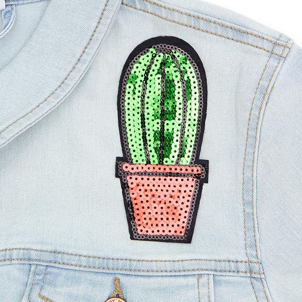 Patch Cactus (5,7 x 12,7 cm) – vert
