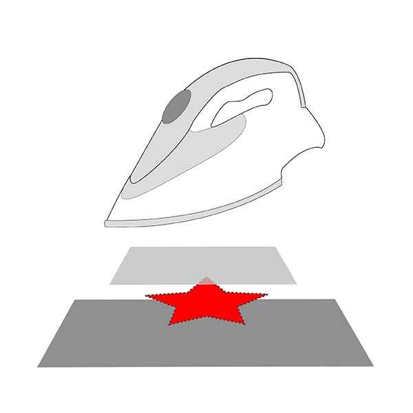 Applikation  Rosen (10,7 x 13,6 cm)