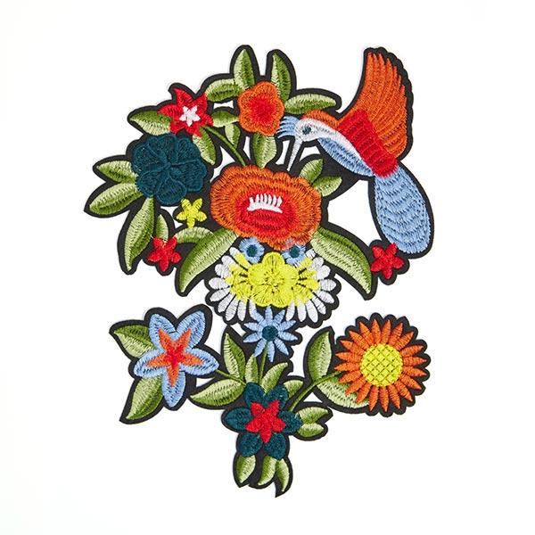 Patch Fleurs (19,6 x 25,6 cm)