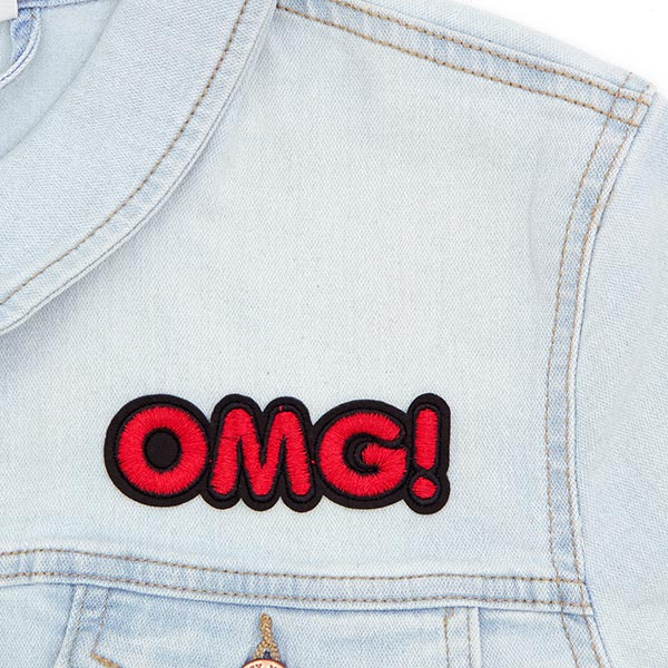 Applikation  OMG ! 2 (9,7 x 3,2 cm)