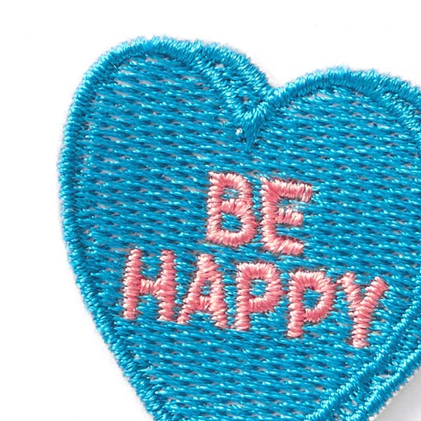 Application Be Happy – bleu