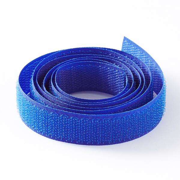 Ruban-crochets [22 mm] – bleu roi
