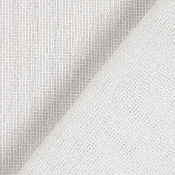 Gardinenstoff Voile Ibiza 295 cm – weiss