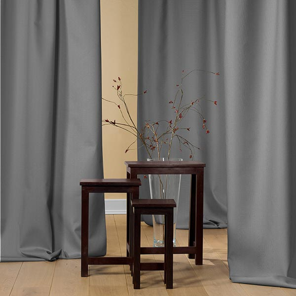 Tissu de rideau Brush – gris