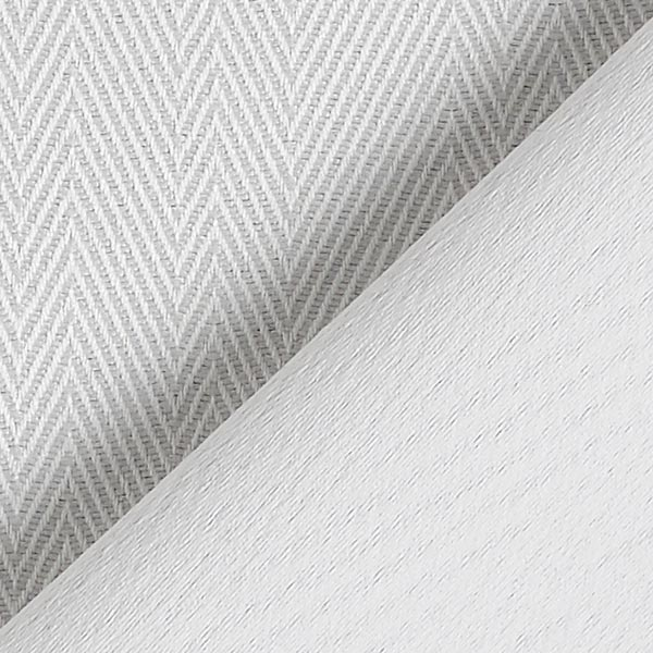 Tissu occultant Chevrons – blanc