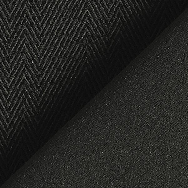Tissu occultant Chevrons – noir