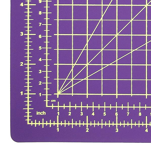 Support de coupe, lilas | 30 x 45 cm | Sew Mate