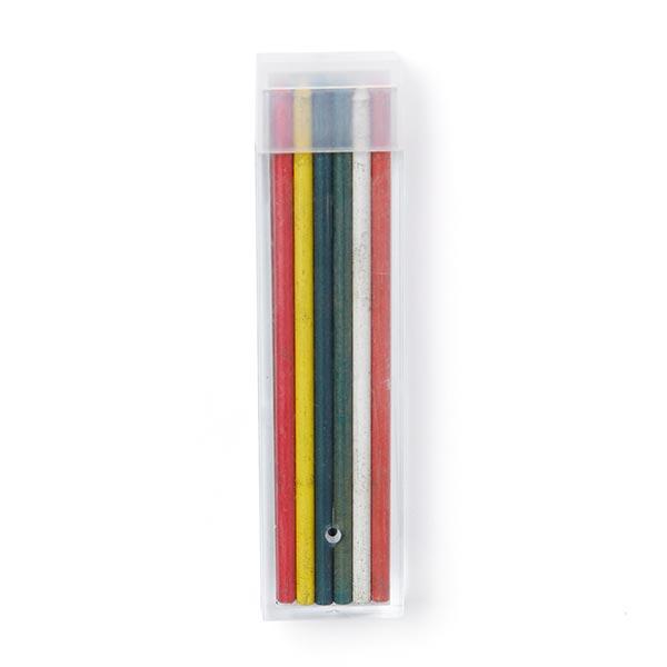 Mines de craie pour porte crayon multicolore [12 Pièces]