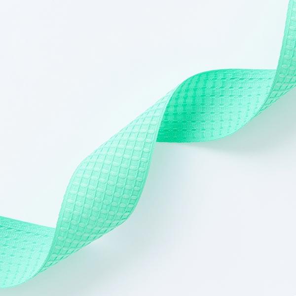 Structure du ruban tissé  – vert menthe