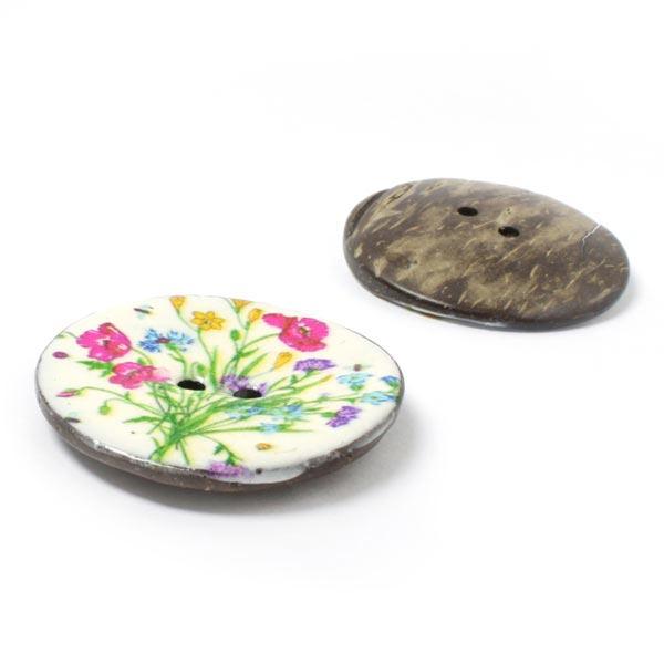 Bouton noix de coco Bouquet de fleurs 2