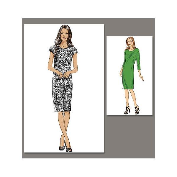 Etuikleid, Vogue 8786   40 - 48 - Schnittmuster Kleid ...