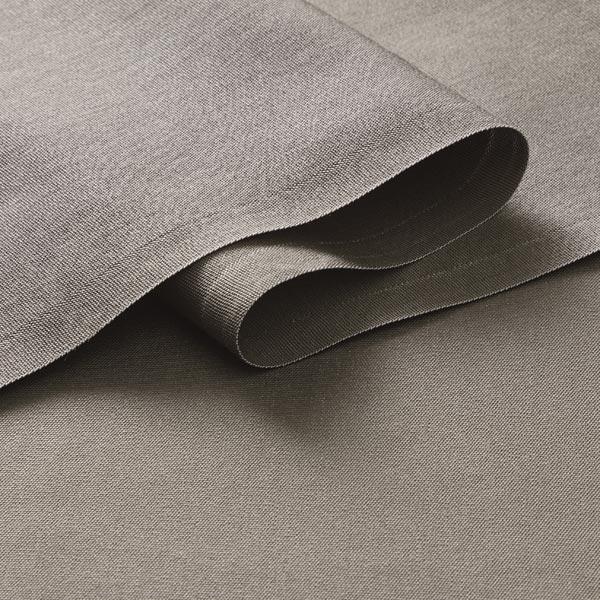 Autostoff Tissu Coussin tissu couleur Anthracite avec 3 mm nappes dos largeur 150 cm