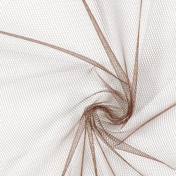 Tulle classique – marron foncé
