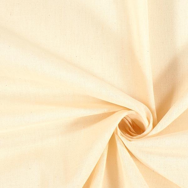 Baumwolle Stoff Schleiernessel – natur