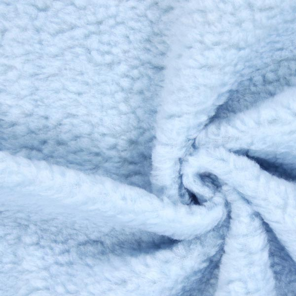 Imitation Fourrure d'Agneau – bleu clair
