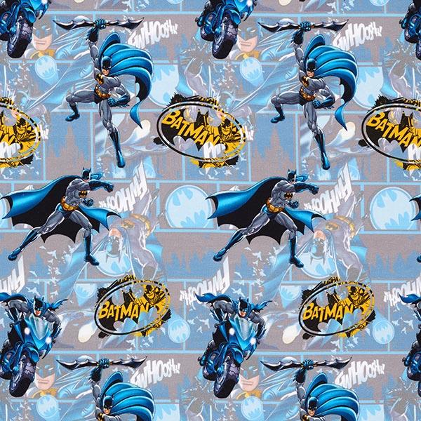 Jersey coton Moto Batman – bleu/gris