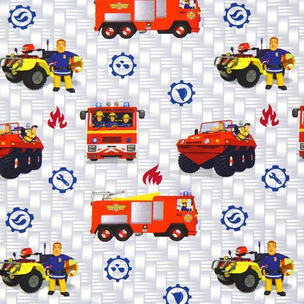 Jersey Single Sam le Pompier 1 – gris