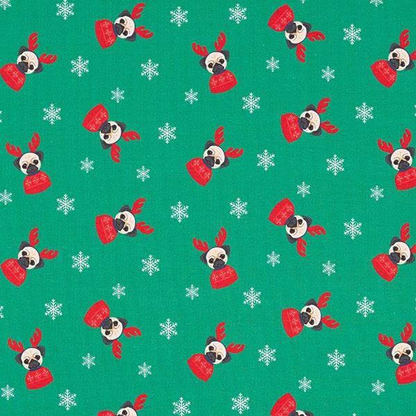 Soft sweater chien de Noël – vert