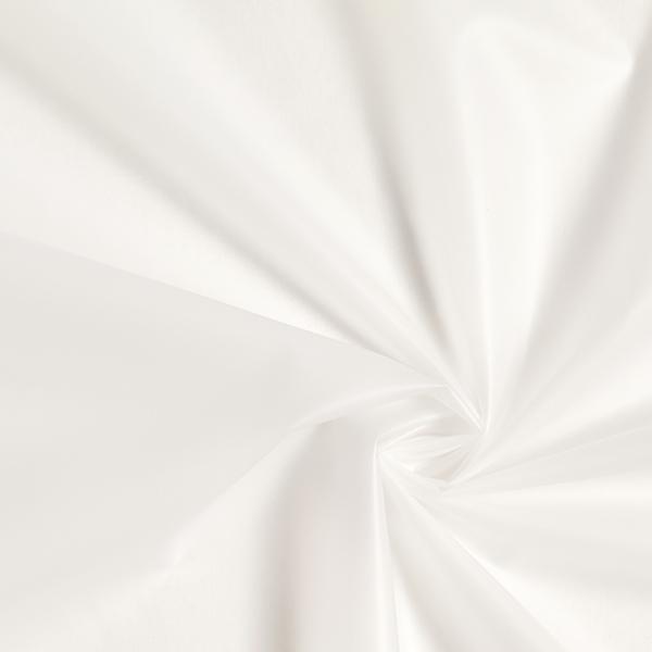 Veste imperméable tissu uni – blanc