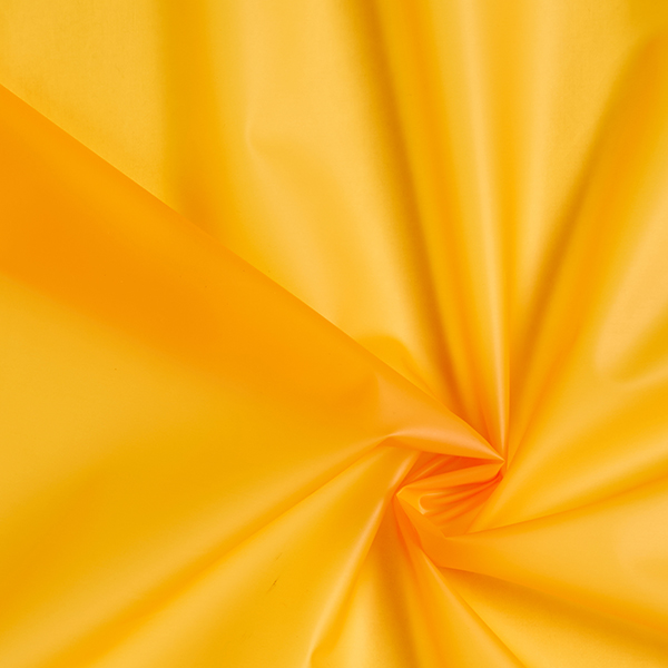 Veste imperméable tissu uni – jaune