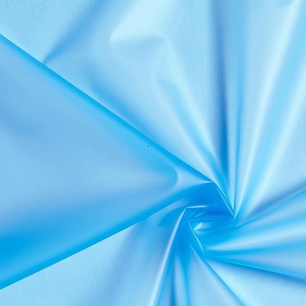Veste imperméable tissu uni – bleu turquoise