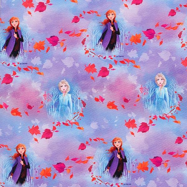Baumwolljersey Digitaldruck Eiskönigin Frozen 2 – rosa