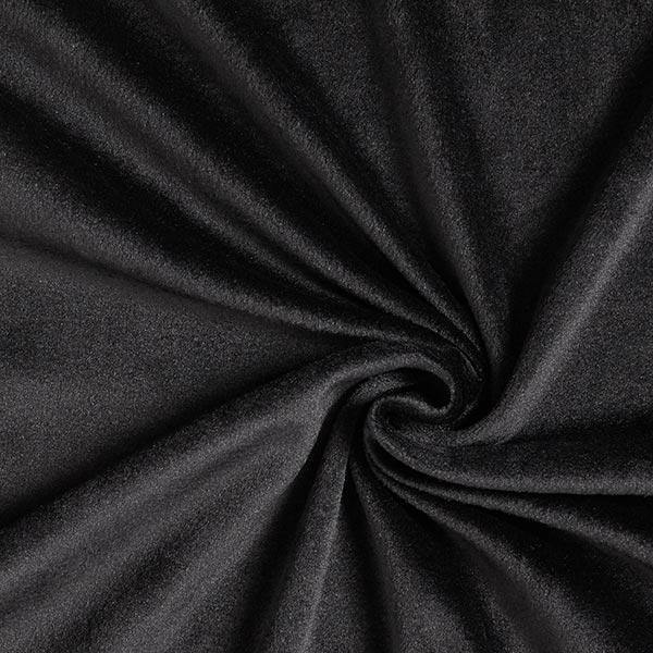 Nicki Fleece uni – schwarz