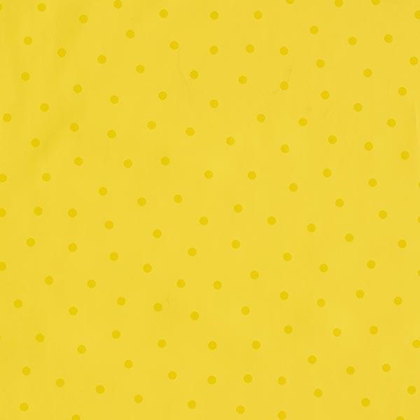 Regenjackenstoff Punkte – gelb