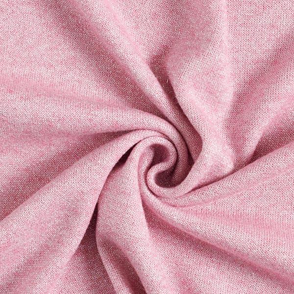 Maille brillante douce – rose
