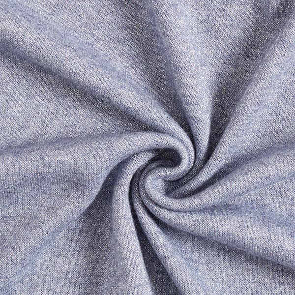 Maille brillante douce – gris bleu