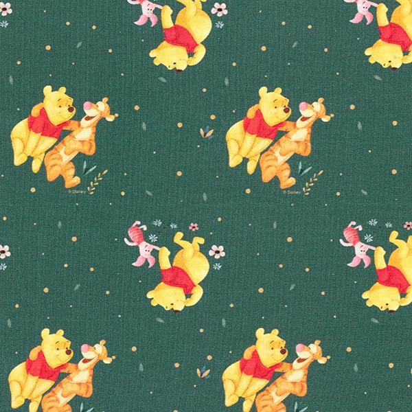 Jersey coton Winnie l'ourson | Disney – vert foncé