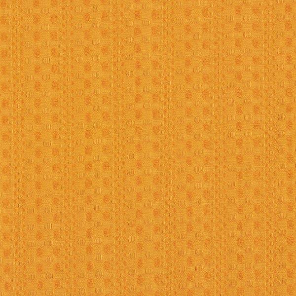 Baumwoll-Jacquard Punkte & Streifenstruktur – currygelb