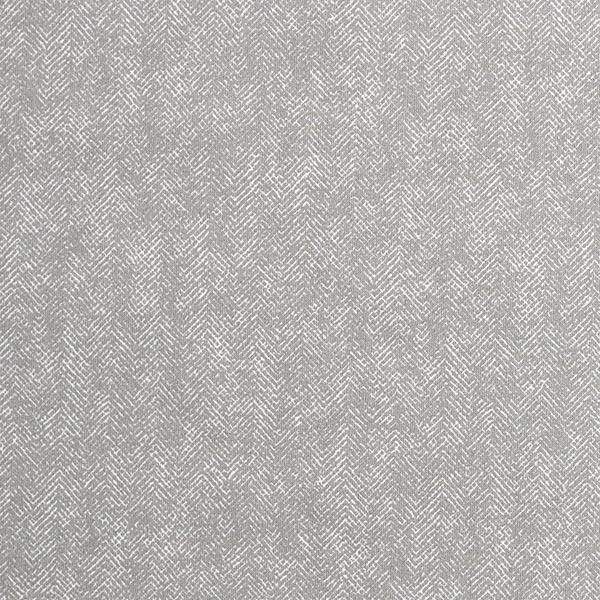 Tissu pour chemise Popeline coton Motif arêtes de poisson – gris clair