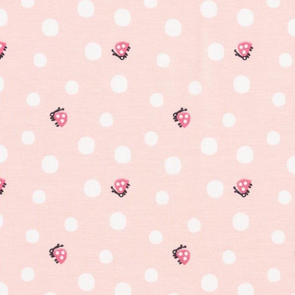 Jersey de coton bio Coccinelle – rosé