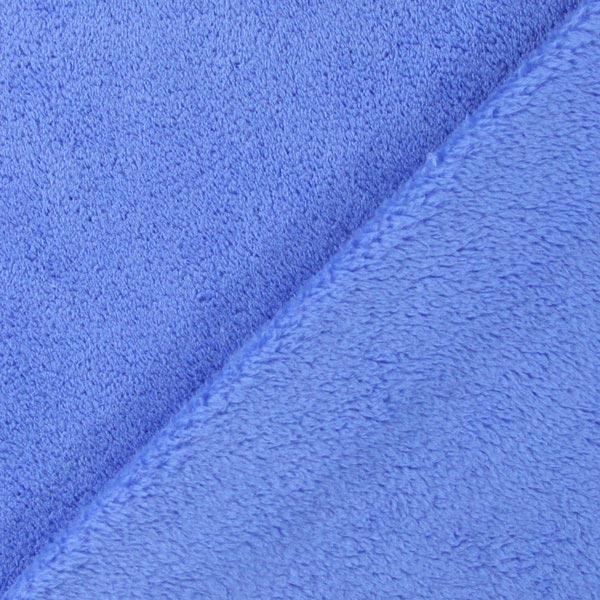 Tissu peluche Sophie – bleu clair