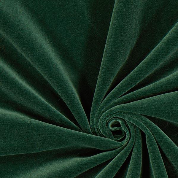 Baumwollsamt – dunkelgrün