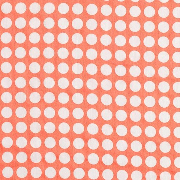 Satin de coton In My Garden Just Dots – saumon   Hamburger Liebe